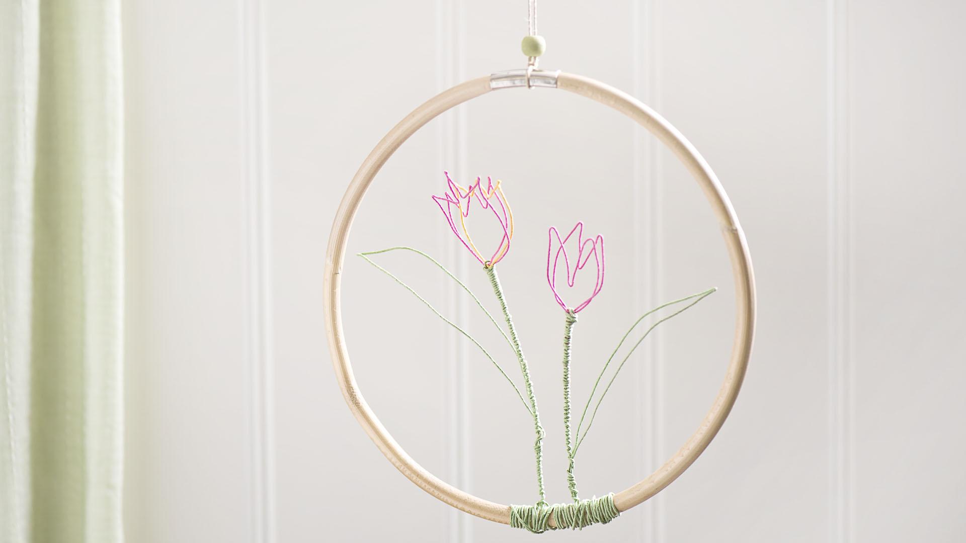 Ideen für Papierdraht: Tulpen