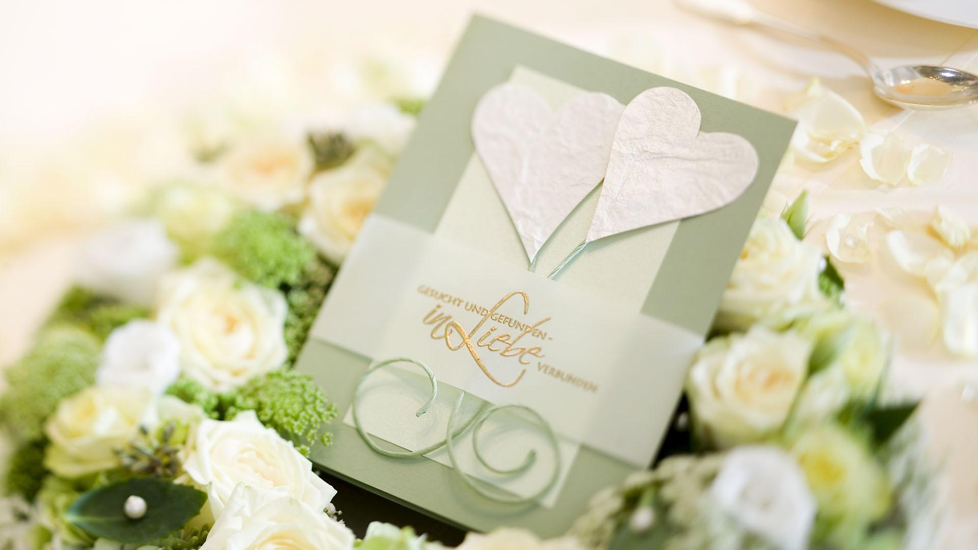 Ideen für Hochzeiten: Gesucht und gefunden | Einladung