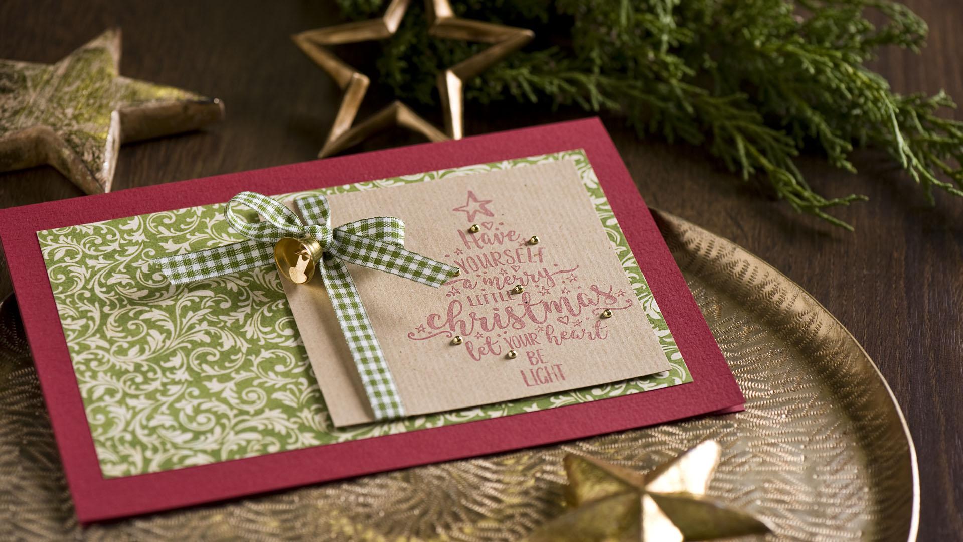 Ideen für die Weihnachtspost: Christmastree