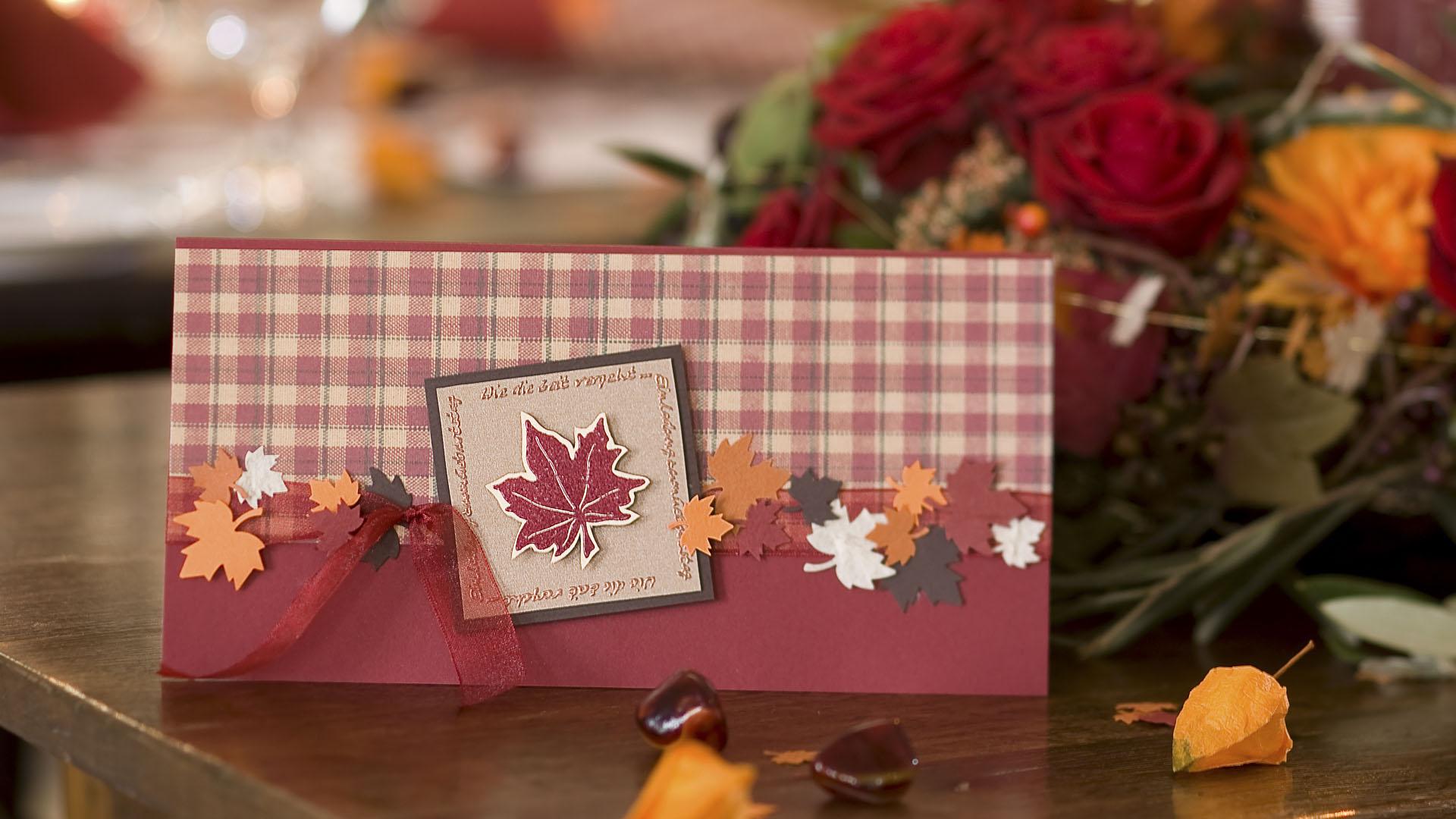 Ideen für Geburtstage: Herbstzeitloses | Einladung