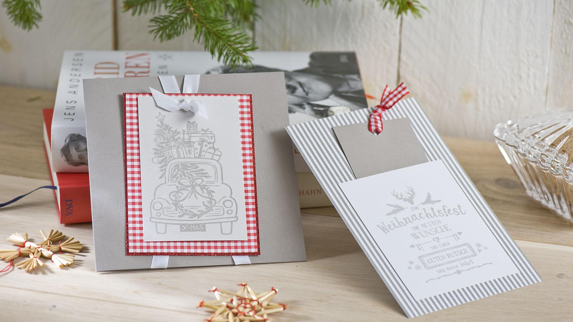 Ideen für die Weihnachtspost: Ganz schön hygge