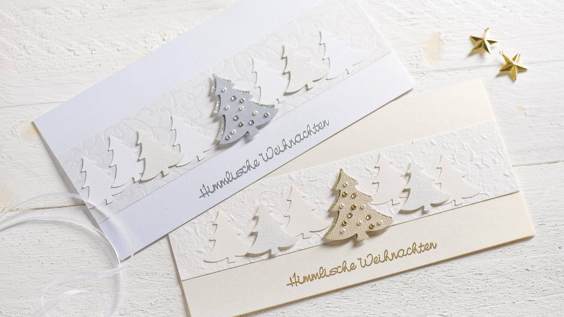 Ideen für die Weihnachtspost: Festlicher Glanz