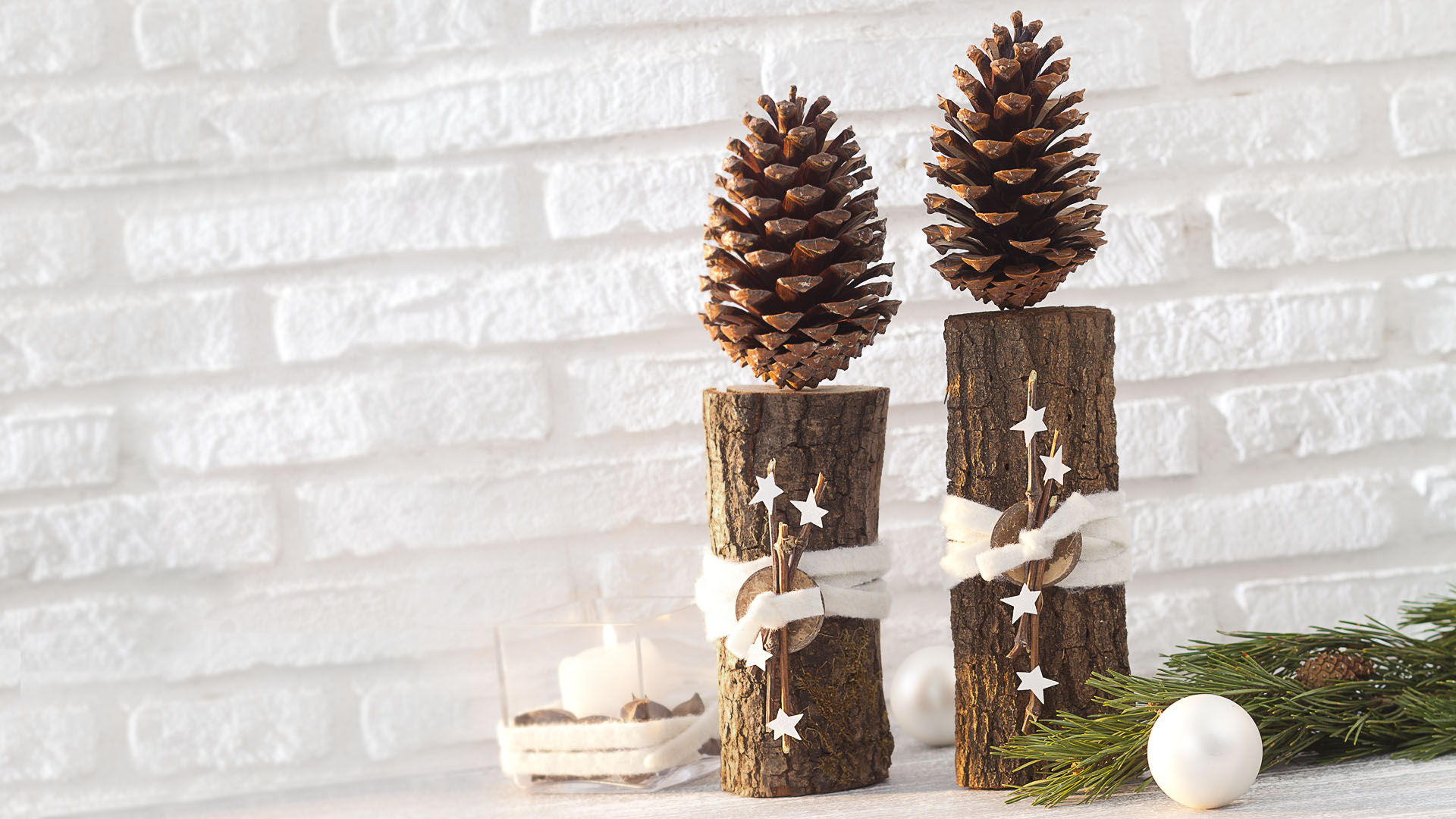 Ideen für Weihnachten: Baumstark