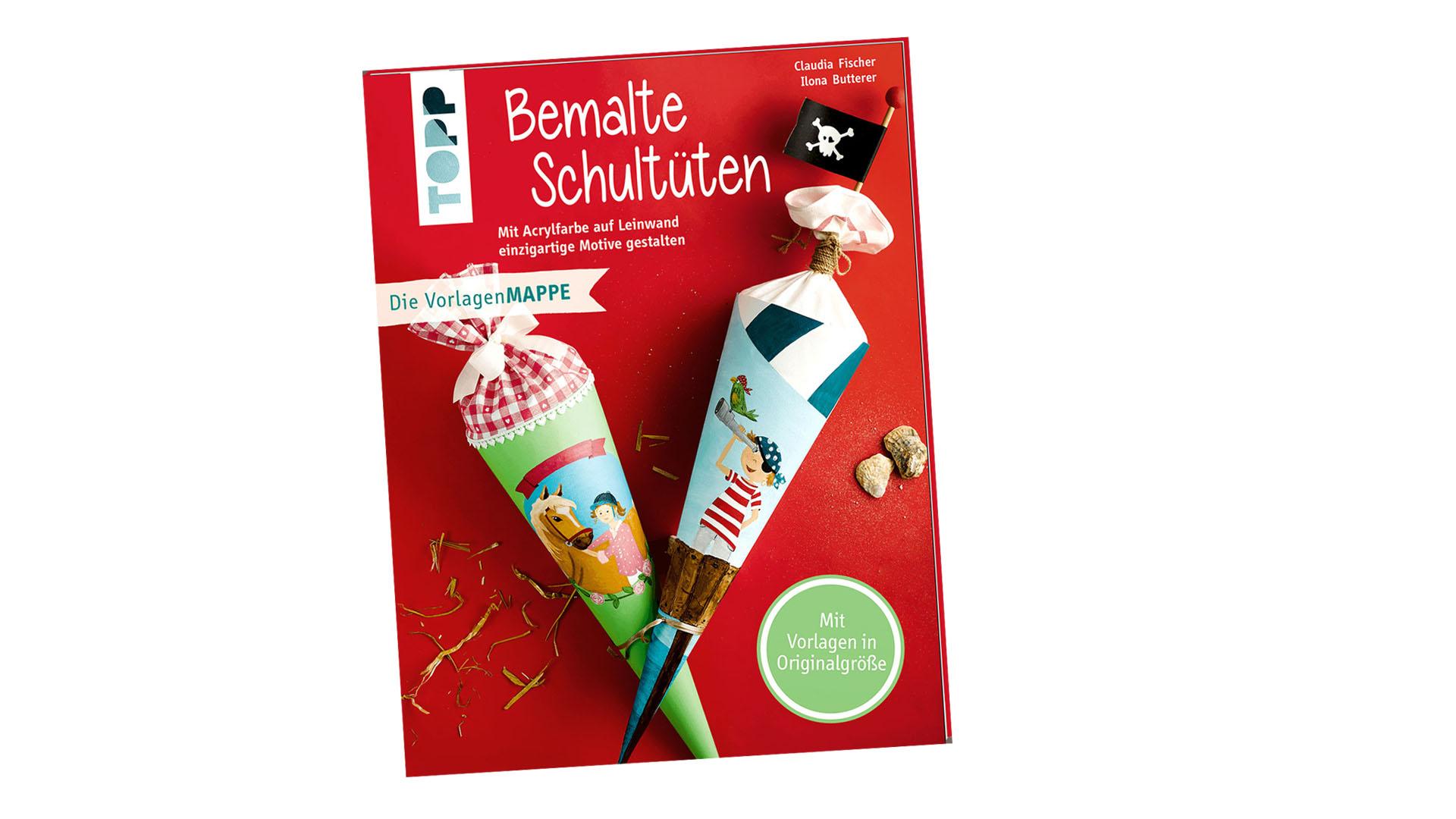 TOPP 4355: Bemalte Schultüten (Claudia Fischer und Ilona Butterer, ISBN 978-3-7724-4355-8)