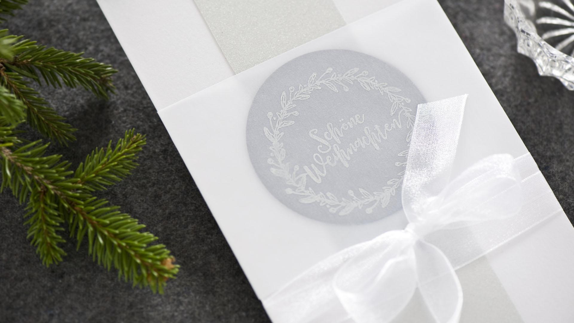 Ideen für die Weihnachtspost: Winterstimmung