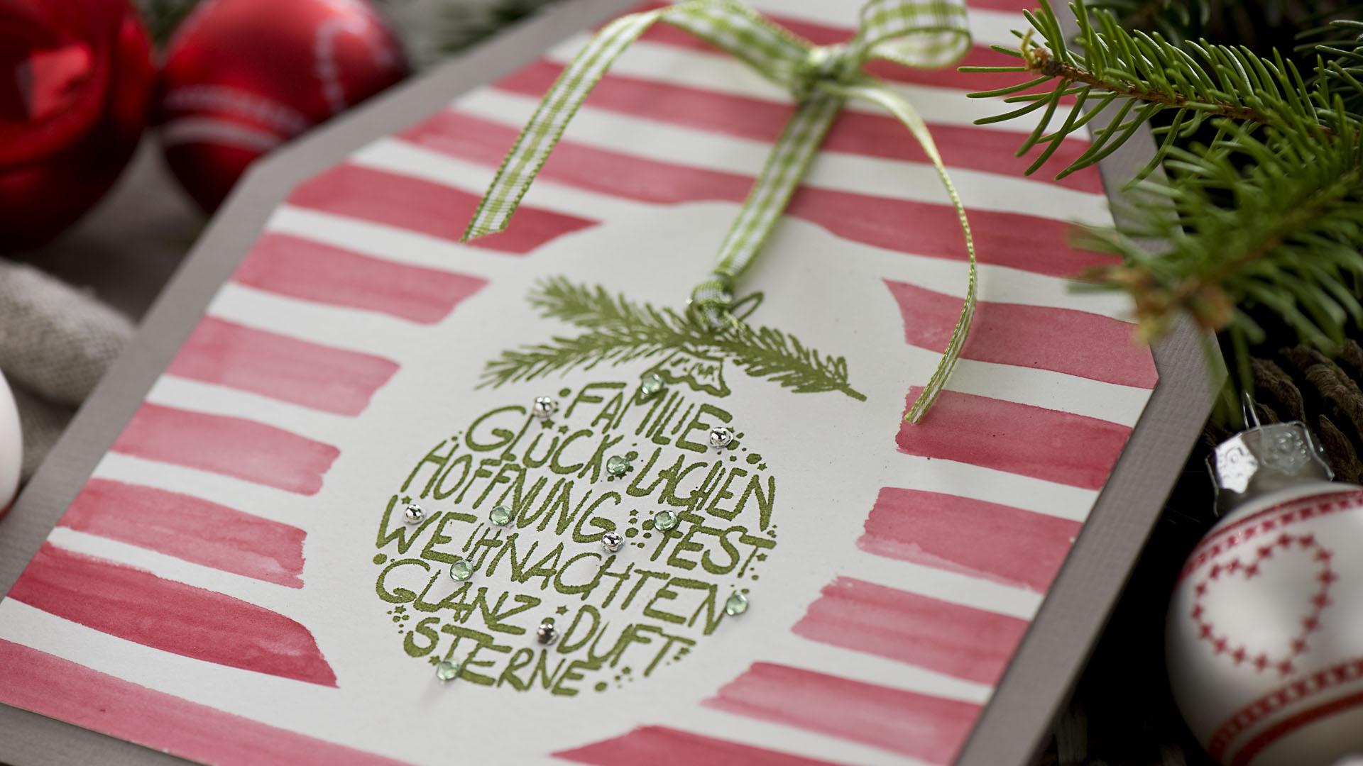 Ideen für die Weihnachtspost: Weihnachtsglück