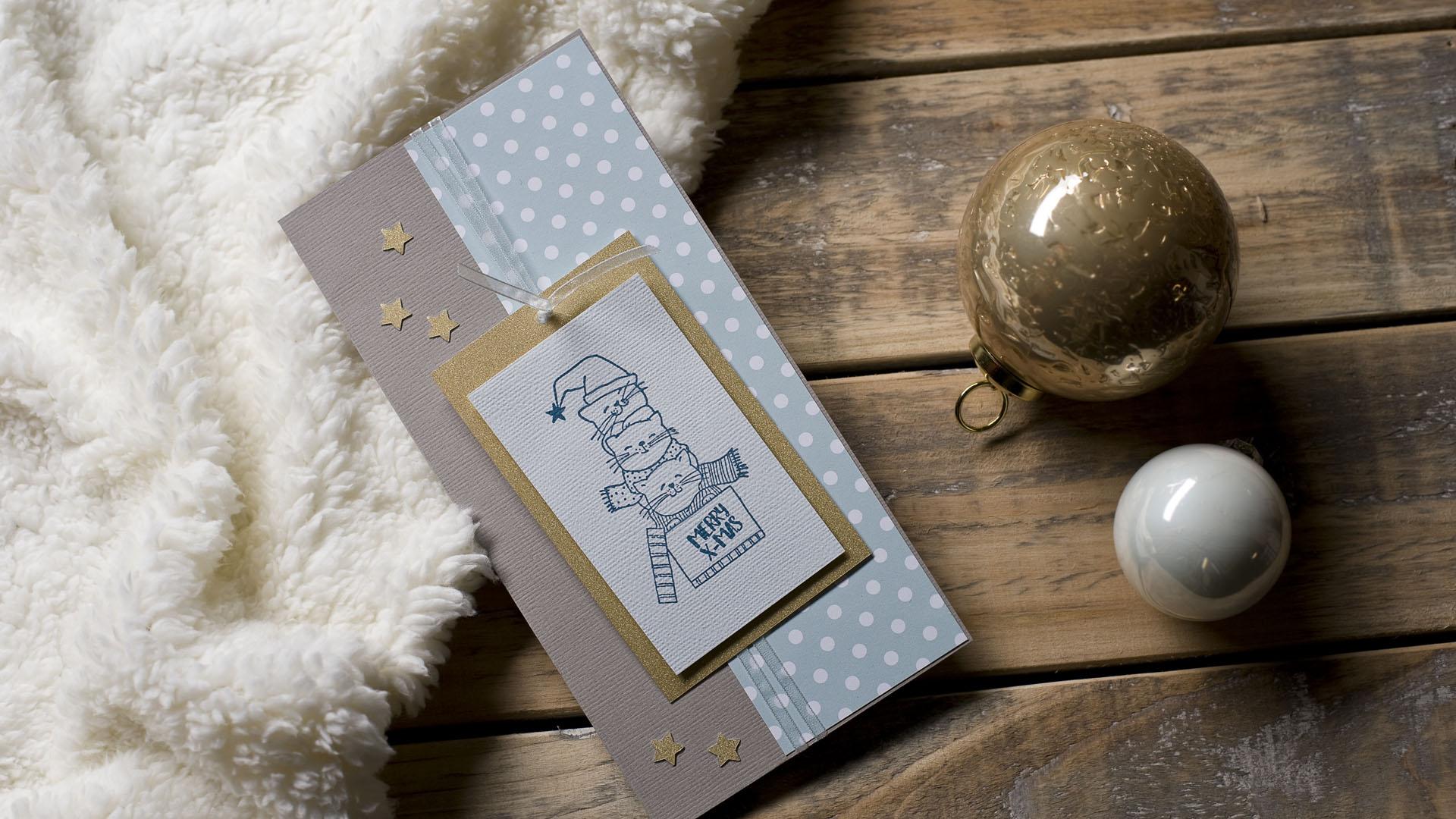 Ideen für die Weihnachtspost: MERRY X-MAS