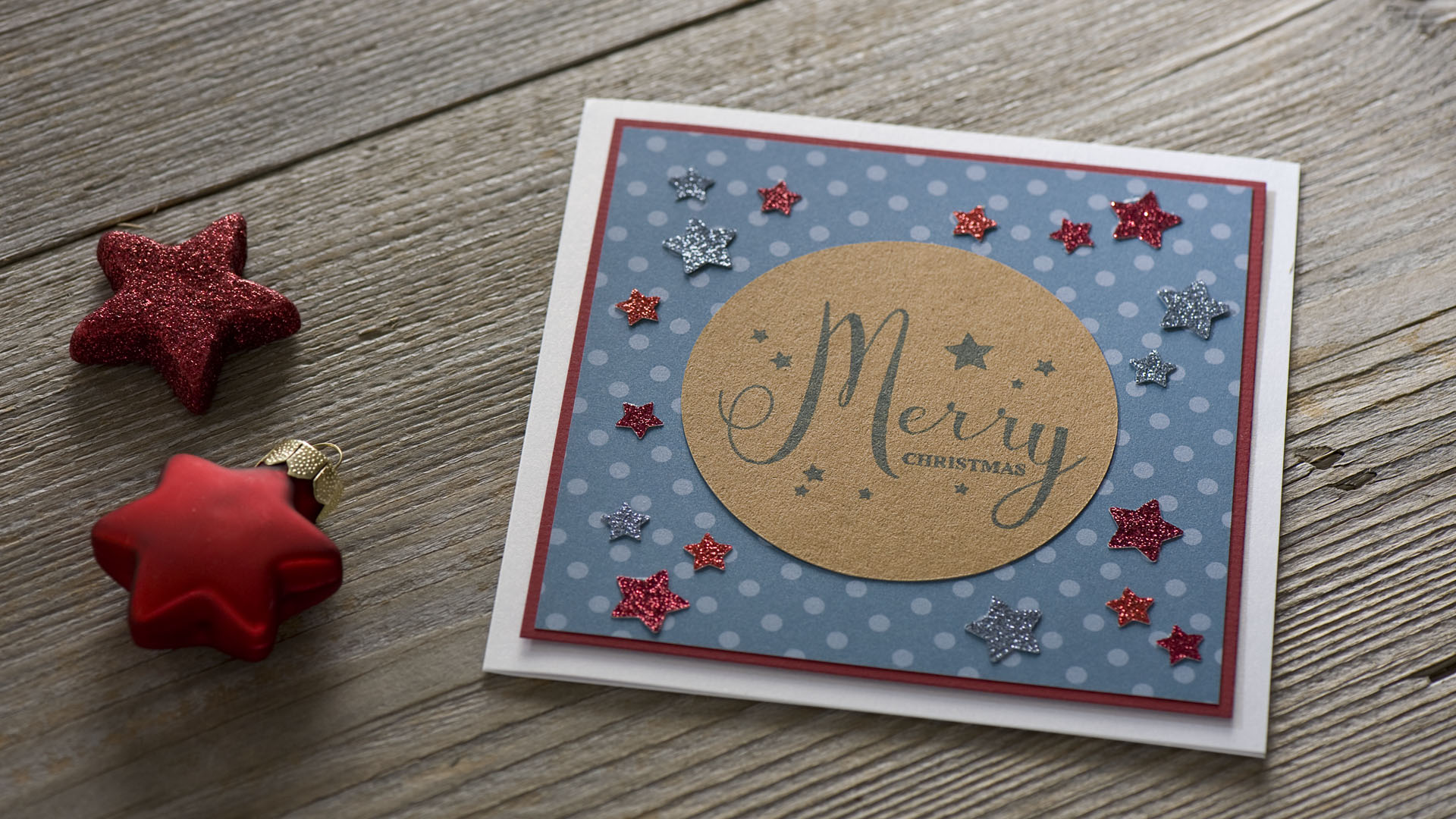 Ideen für die Weihnachtspost: Stars und Sternchen