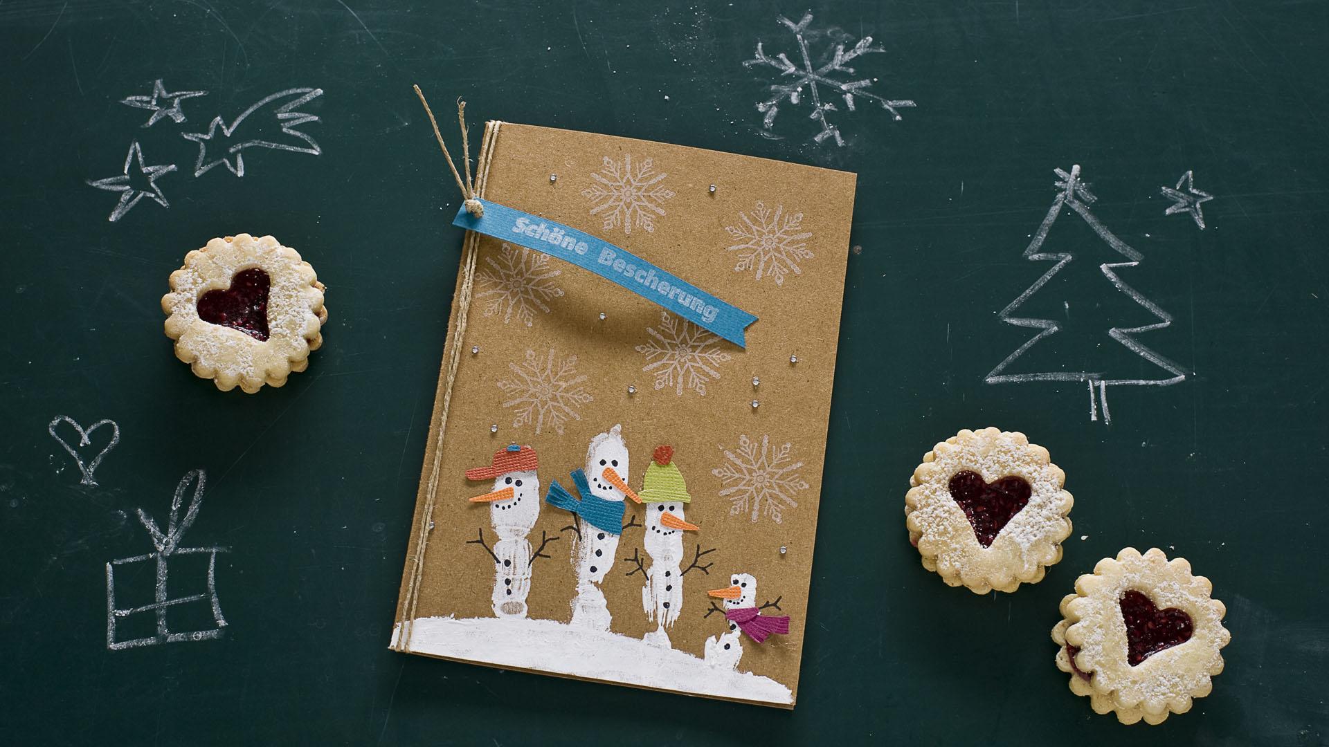 Ideen für die Weihnachtspost: Winterwonderland
