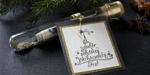 Ideen für die Weihnachtspost: Ein zauberschönes Weihnachtsfest | festliches Geldgeschenk für große und kleine Herzenswünsche